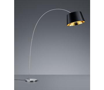 Trio Leuchten Vloerlamp Linz - Zwart/Goud