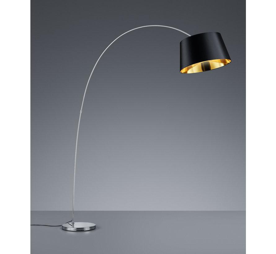 Vloerlamp Linz - Zwart/Goud