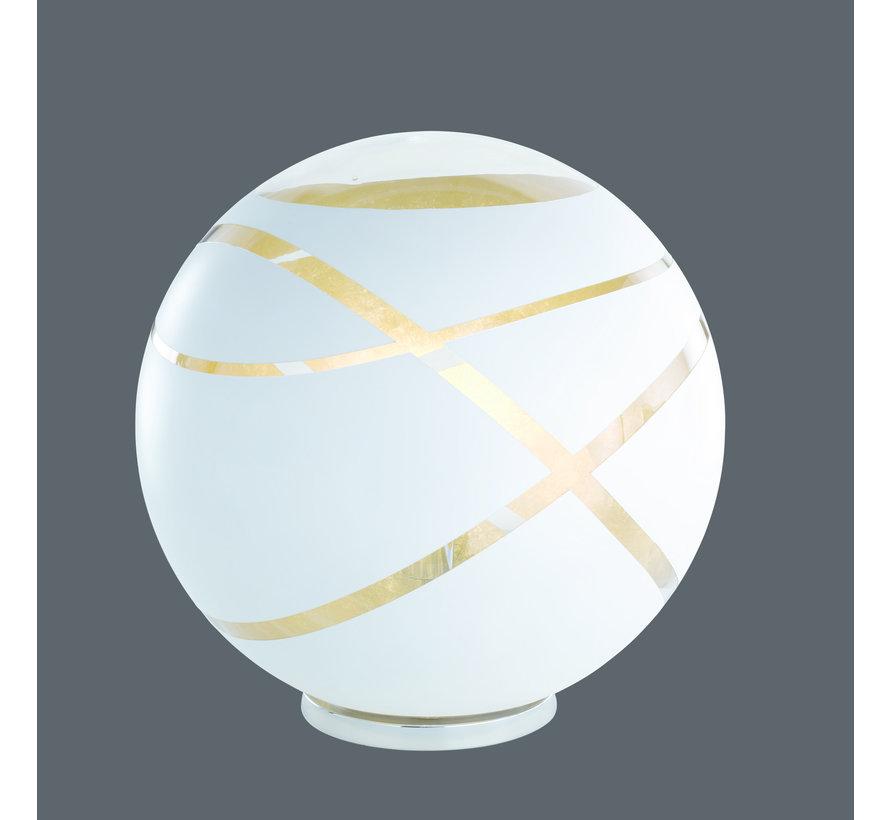 Vloerlamp Faro - Wit/Goud