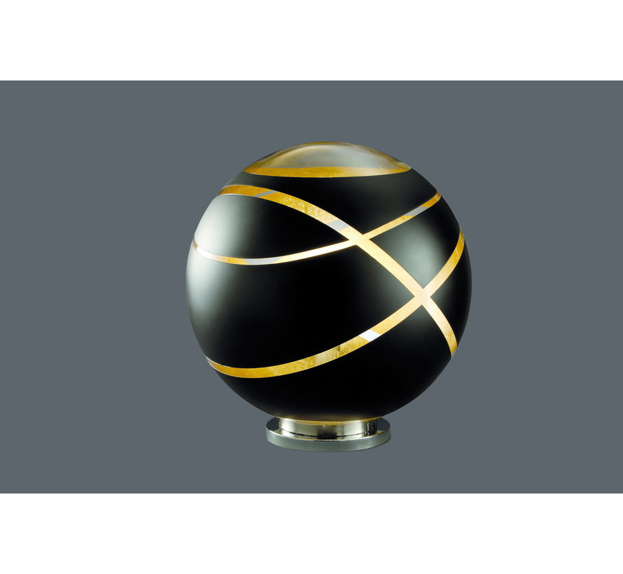 Vloerlamp Faro - Zwart/Goud