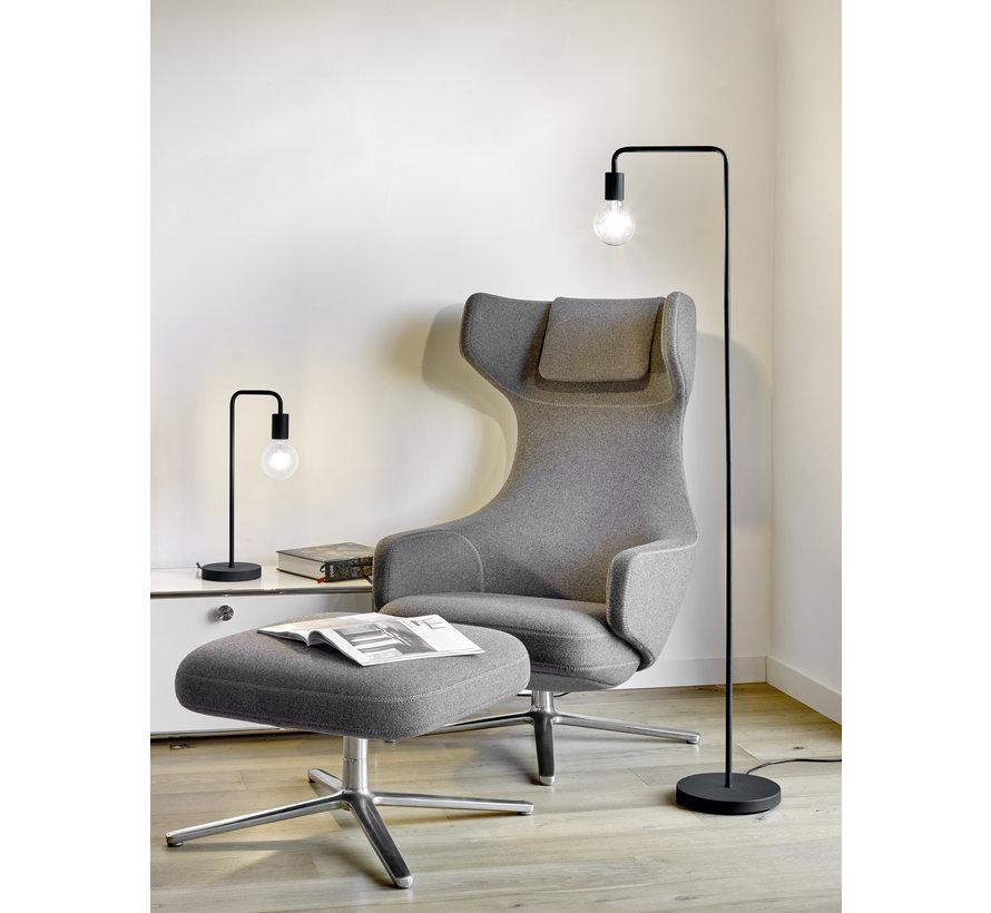 Vloerlamp Diallo - Zwart