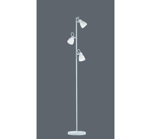 Trio Leuchten Vloerlamp Concrete - Grijs