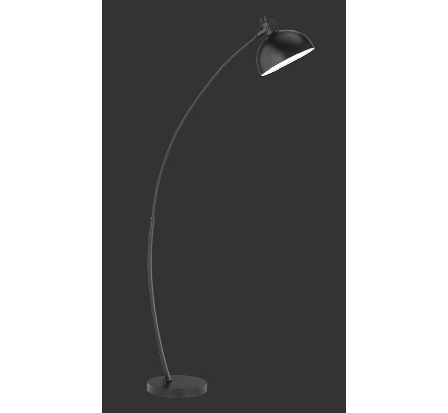 Vloerlamp Recife - Zwart/Wit