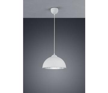 Trio Leuchten Hanglamp Jimmy - Wit/Zilver