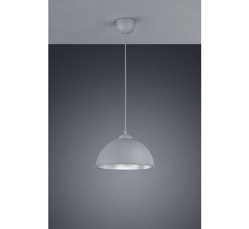 Trio Leuchten Hanglamp Jimmy - Grijs/Zilver