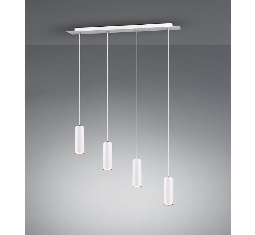 Hanglamp Marley 4L - Wit
