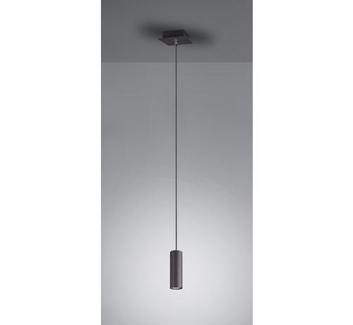 Trio Leuchten Hanglamp Marley - Zwart