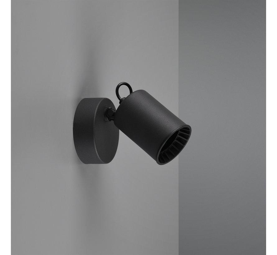 Wandlamp Pago - Zwart