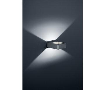 Trio Leuchten Wandlamp Reno - Antraciet