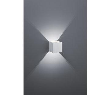 Trio Leuchten Wandlamp Louis - Aluminium