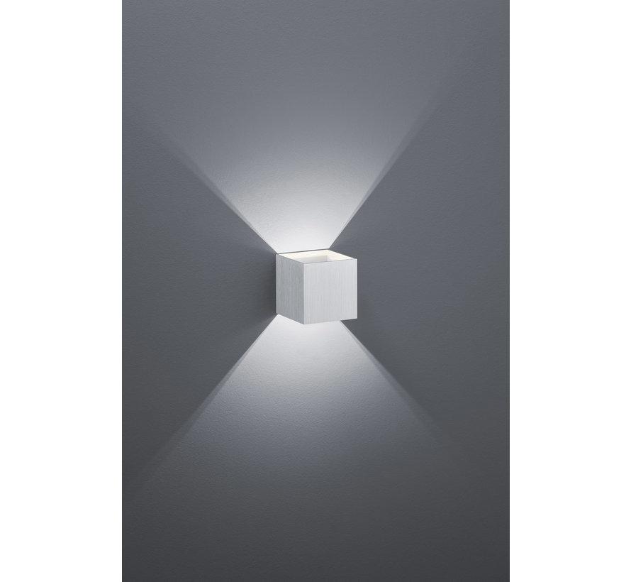 Wandlamp Louis - Aluminium