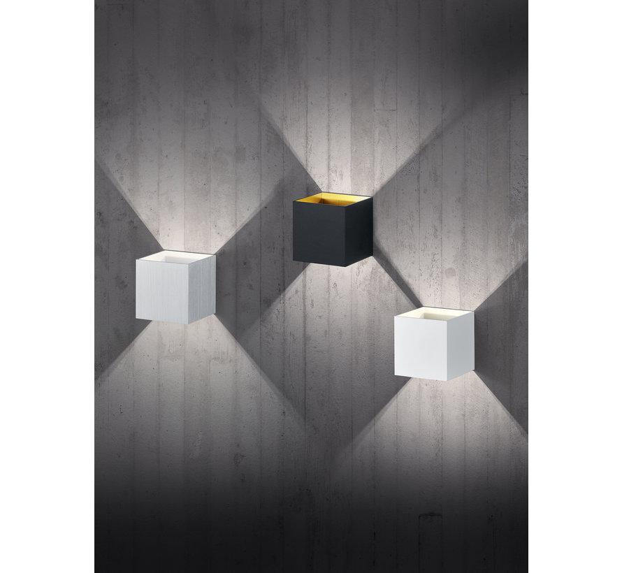Wandlamp Louis - Zwart/Goud