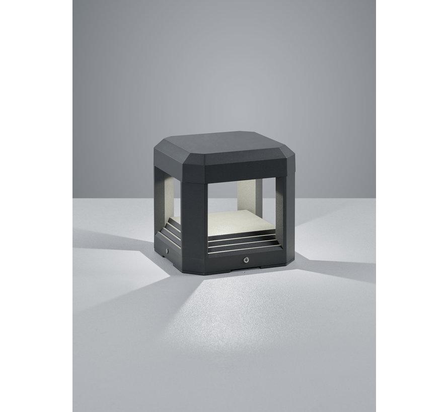 Wandlamp Logone - Antraciet