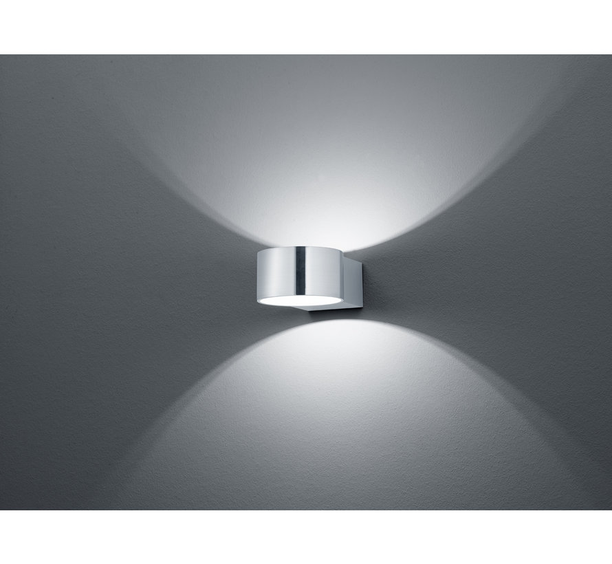 Wandlamp Lacapo - Mat Staal
