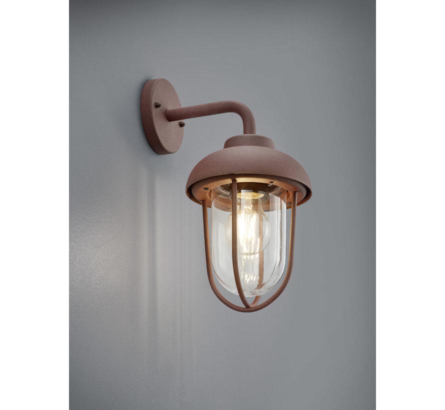 Wandlamp Duero - Roestbruin