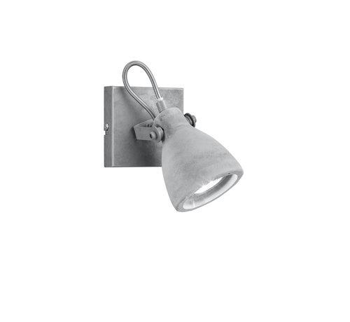 Trio Leuchten Wandlamp Concrete - Grijs