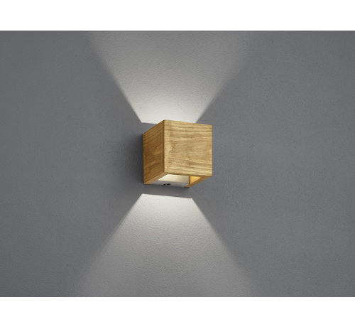 Trio Leuchten Wandlamp Brad I - Hout