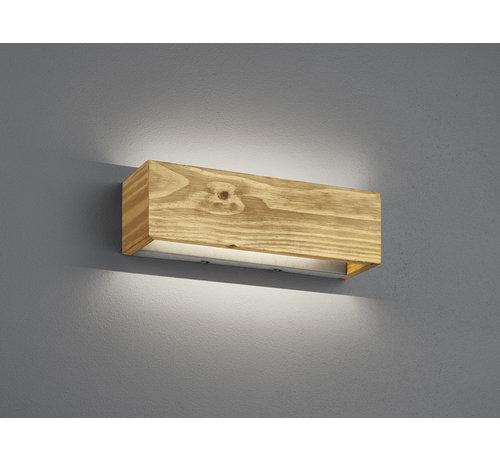 Trio Leuchten Wandlamp Brad II - Hout