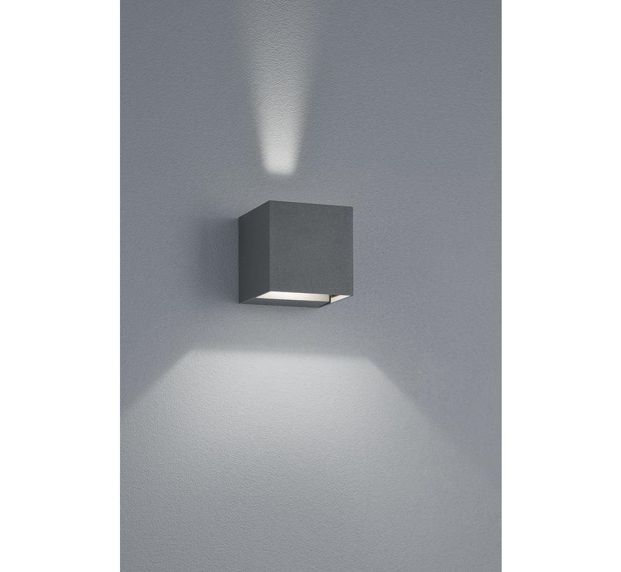 Wandlamp Adaja - Antraciet
