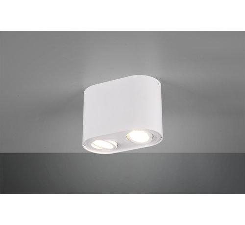 Trio Leuchten Plafondlamp Cookie 2L - Wit
