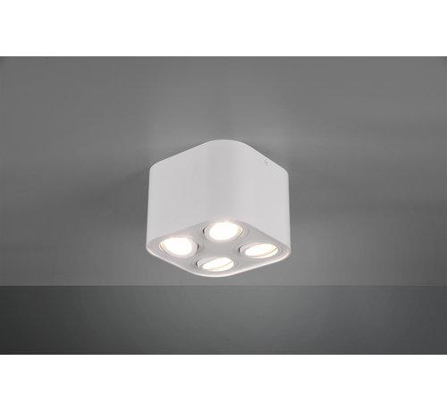 Trio Leuchten Plafondlamp Cookie 4L - Wit