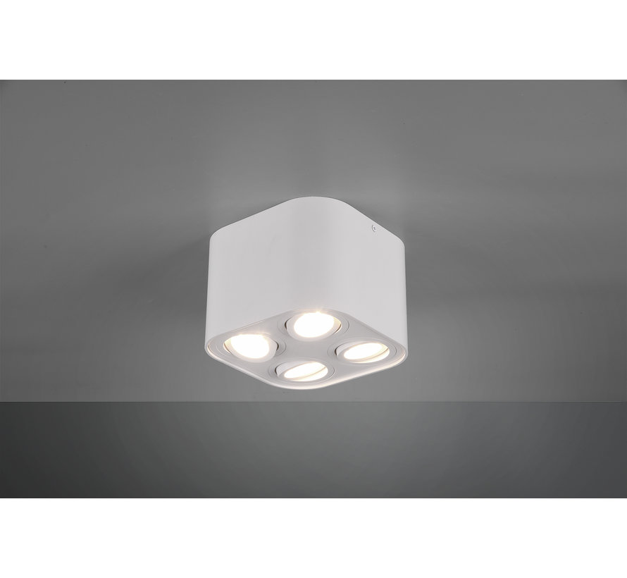 Plafondlamp Cookie 4L - Wit