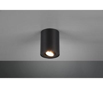 Trio Leuchten Plafondlamp Cookie 1L - Zwart