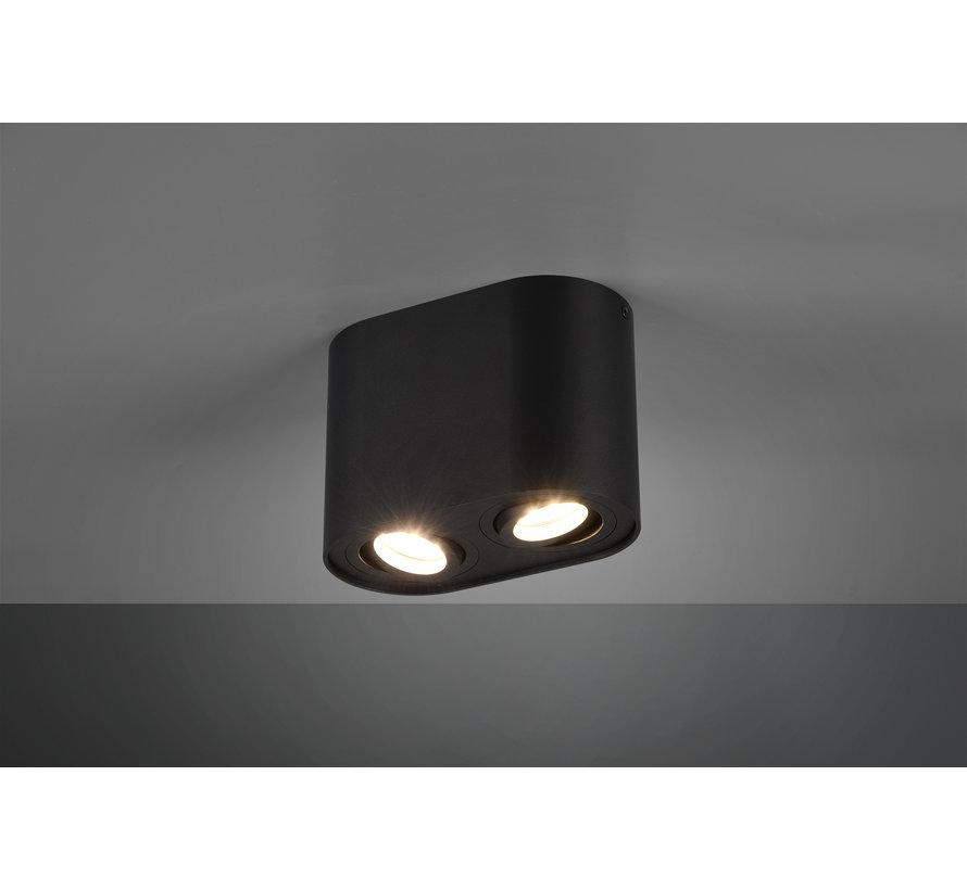 Plafondlamp Cookie 2L - Zwart