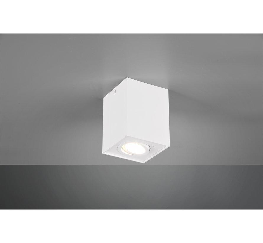 Plafondlamp Biscuit 1L - Wit