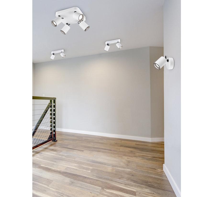 Plafondlamp Pago 2L - Wit