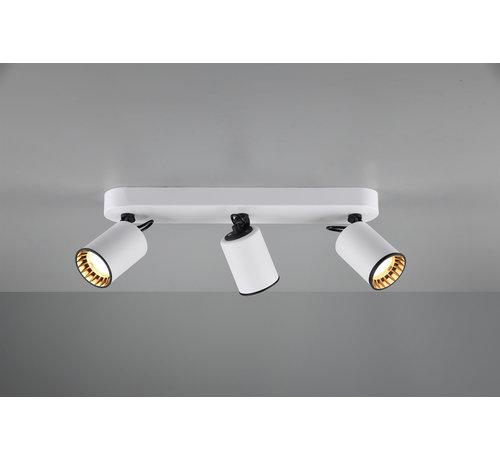 Trio Leuchten Plafondlamp Pago 3L - Wit