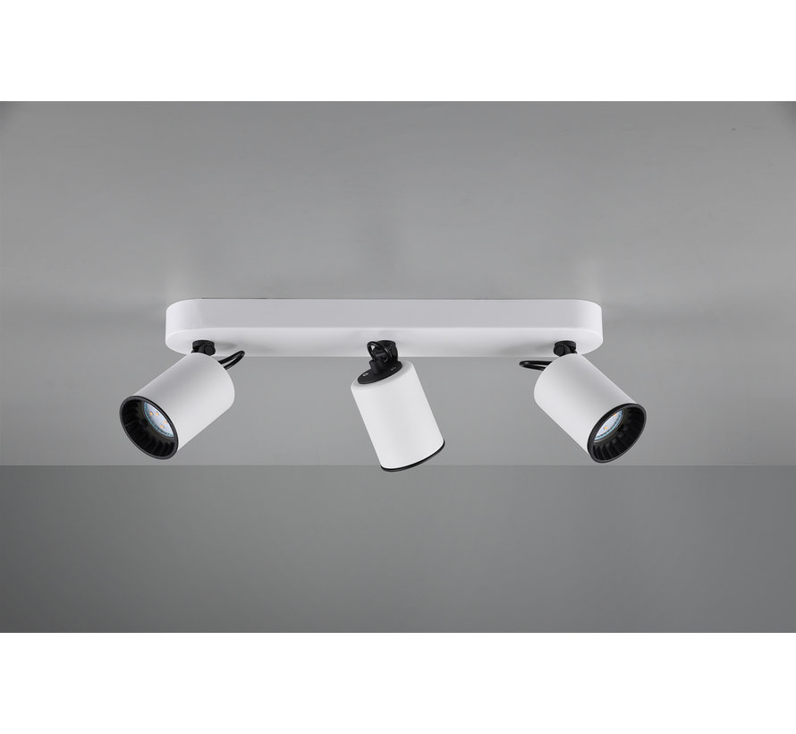 Plafondlamp Pago 3L - Wit