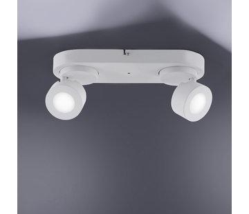 Trio Leuchten Plafondlamp Sancho 2L - Wit