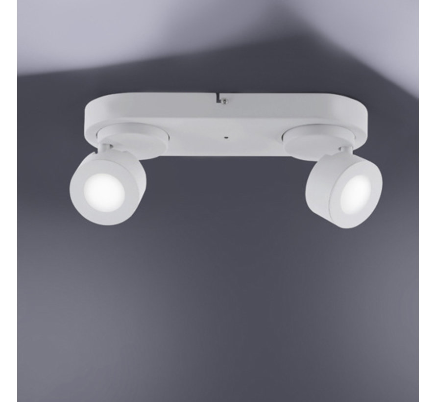 Plafondlamp Sancho 2L - Wit