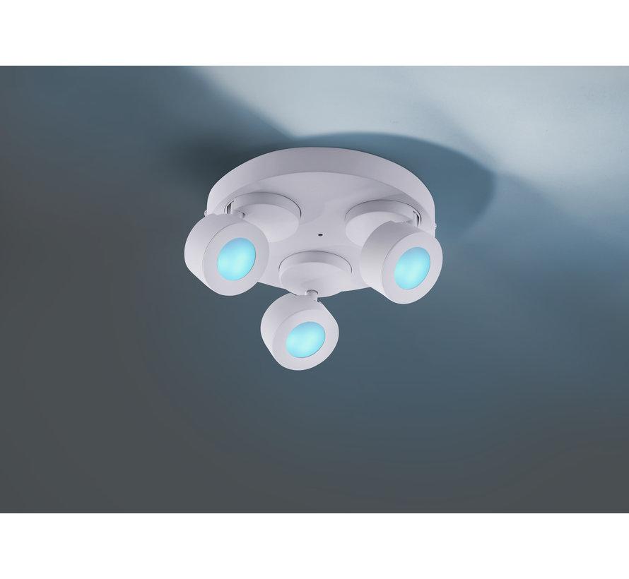 Plafondlamp Sancho 3L - Wit