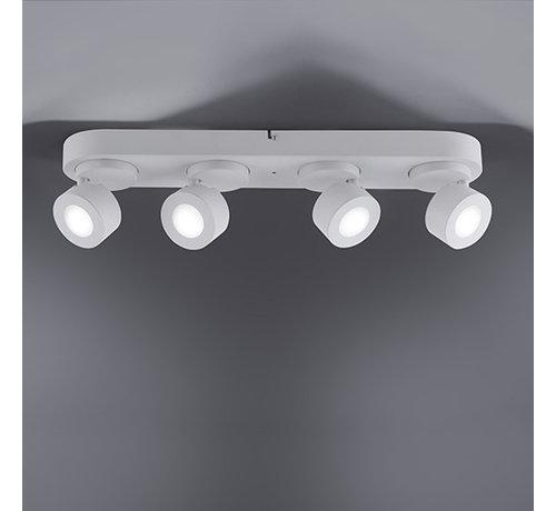 Trio Leuchten Plafondlamp Sancho 4L - Wit