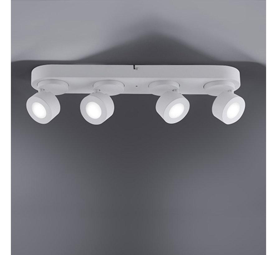 Plafondlamp Sancho 4L - Wit