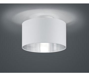Trio Leuchten Plafondlamp Hostel - Wit/Zilver