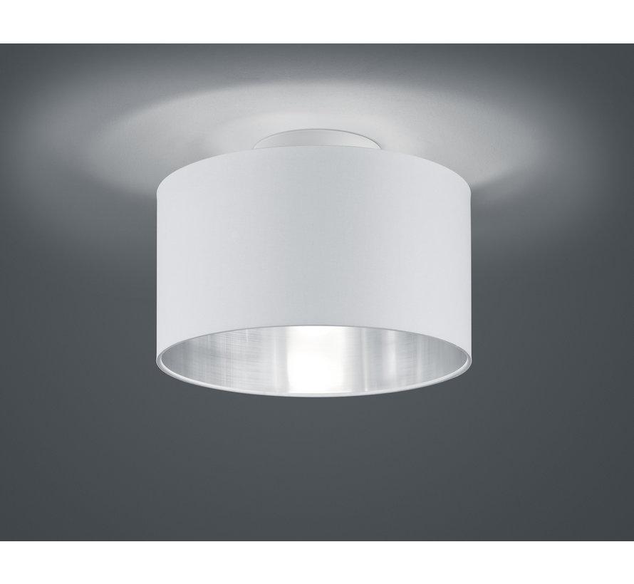 Plafondlamp Hostel - Wit/Zilver