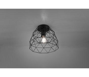 Trio Leuchten Plafondlamp Haval Ø27cm - Zwart