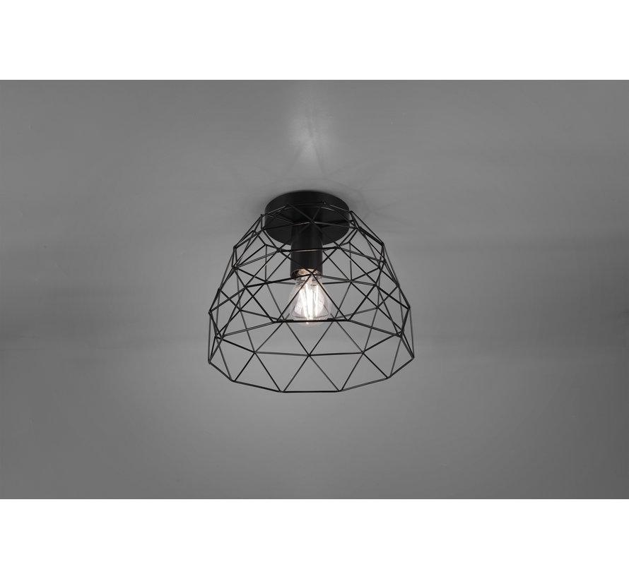 Plafondlamp Haval Ø27cm - Zwart