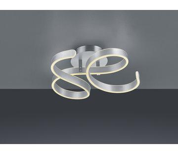 Trio Leuchten Plafondlamp Francis - Mat Staal