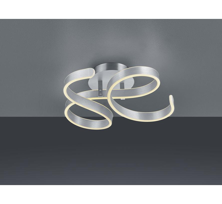 Plafondlamp Francis - Mat Staal