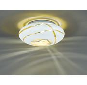 Trio Leuchten Plafondlamp Faro Ø50cm - Wit/Goud