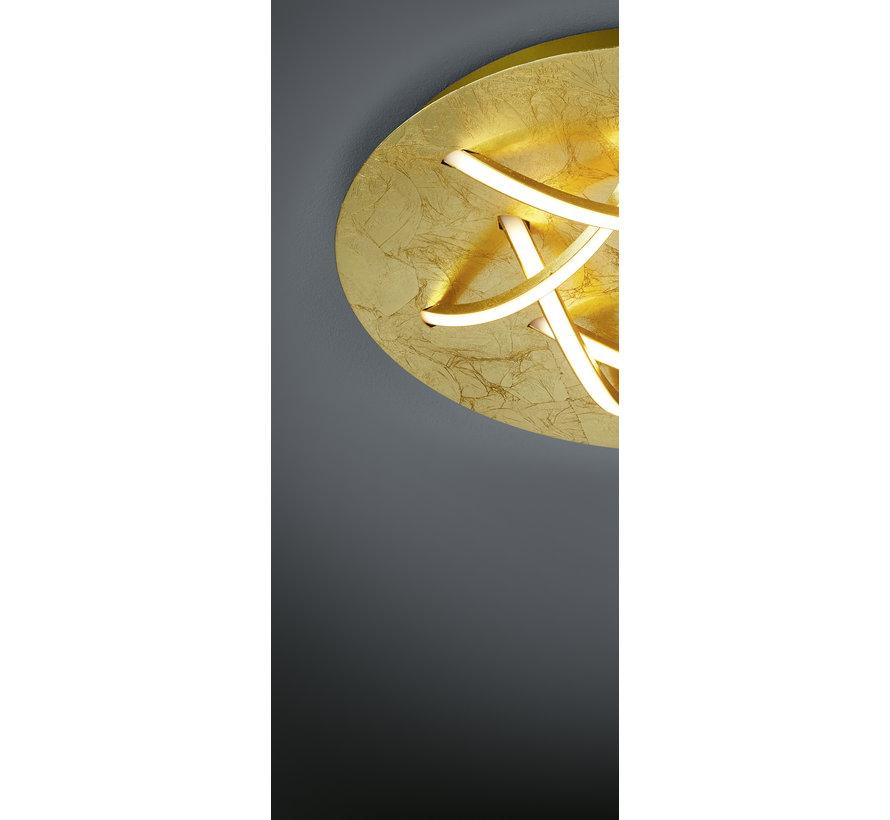 Plafondlamp Dolphin - Goud
