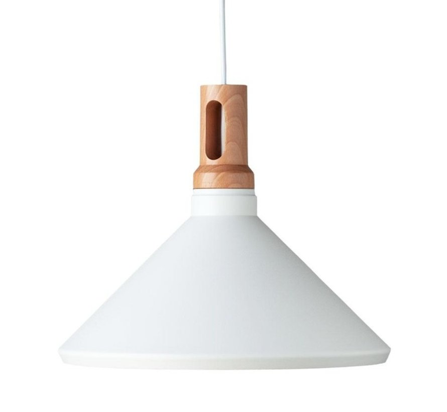 Hanglamp Cornet C - Wit