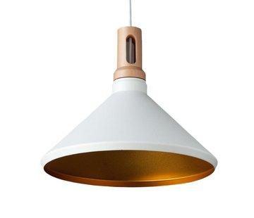 Artdelight Hanglamp Cornet C - Wit