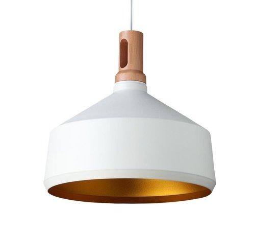 Artdelight Hanglamp Cornet B - Wit