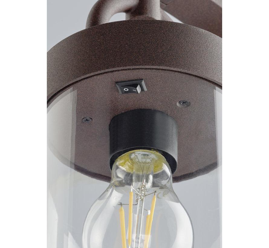 Buitenlamp Sambesi 100cm - Roestbruin