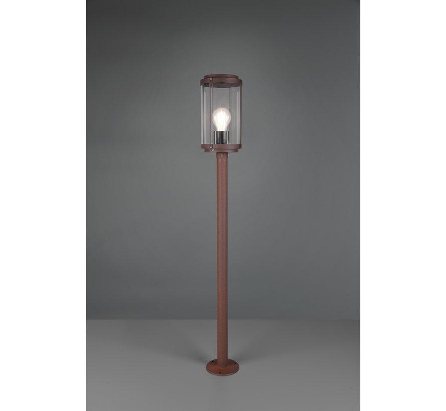 Buitenlamp Tanaro 100cm - Roestbruin
